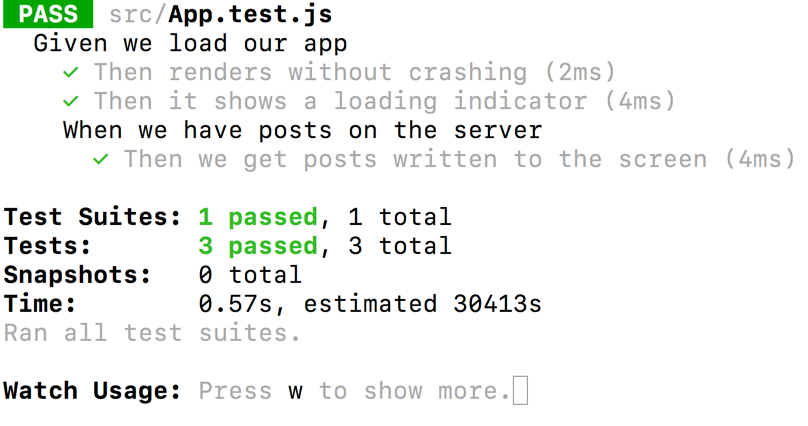 High ROI Testing with React, Enzyme and Jest – Part 3, Writing an